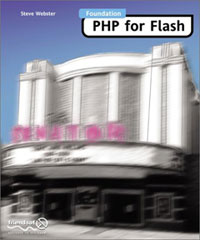 Foundation PHP for Flash - front cover - click to enlarge